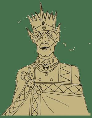 NPC King Ecru